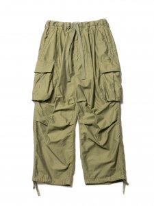 COOTIE (クーティー) Back Satin Error Fit Cargo Easy Pants (バックサテンエラーフィットカーゴイージーパンツ) Olive