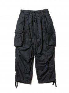 COOTIE (クーティー) Back Satin Error Fit Cargo Easy Pants (バックサテンエラーフィットカーゴイージーパンツ) Black