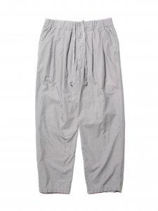 COOTIE (クーティー) Garment Dyed 2 Tuck Easy Pants (ツータックイージーパンツ) Gray