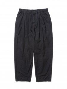 COOTIE (クーティー) Garment Dyed 2 Tuck Easy Pants (ツータックイージーパンツ) Black