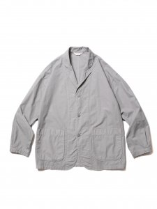 COOTIE (クーティー) Garment Dyed Lapel Jacket (ラペルジャケット) Gray