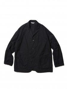 【残り1点】COOTIE (クーティー) Garment Dyed Lapel Jacket (ラペルジャケット) Black