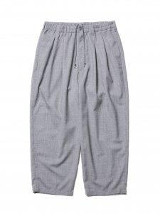 COOTIE (クーティー) T/W 2 Tuck Easy Pants (T/Wツータックイージーパンツ) Ash Gray
