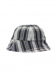 COOTIE (クーティー) Jacquard Check Ball Hat (ジャガードチェックボールハット) Black