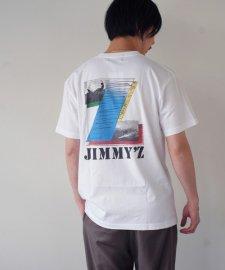 JIMMY'Z (ジミーズ) SURF-Z POCKET TEE (ポケット付きプリントTEE) WHITE