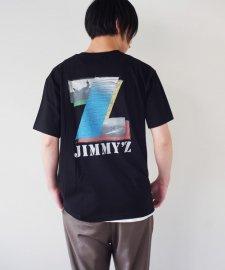 JIMMY'Z (ジミーズ) SURF-Z POCKET TEE (ポケット付きプリントTEE) BLACK