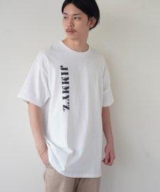 【残り1点】JIMMY'Z (ジミーズ) LOGO DESIGN PRINT TEE (プリントTEE) WHITE