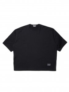 COOTIE (クーティー) Supima Cotton Wide Fit S/S Tee (スーピマコットンワイドフィット半袖TEE) Black