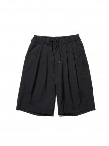 COOTIE (クーティー) T/W 2 Tuck Easy Shorts (T/Wツータックイージーショーツ) Black