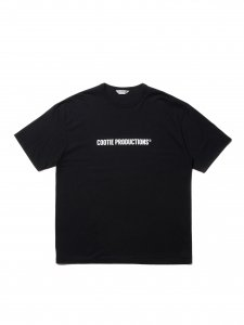 COOTIE (クーティー) Print S/S Tee (COOTIE LOGO) (プリント半袖TEE) Black