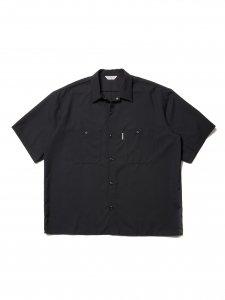 COOTIE (クーティー) T/W Work S/S Shirt (T/Wワーク半袖シャツ) Black