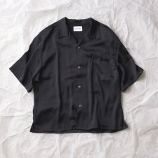 ANASOLULE (アナソルール) Relaxing Shirts(リラクシングシャツ) BLACK
