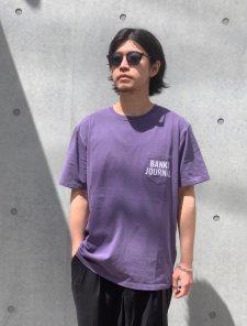 【40%OFF】BANKS (バンクス) SHORES TEE (プリント半袖TEE)GRAPE