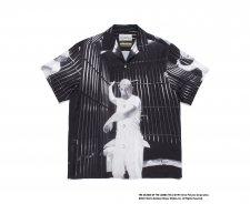WACKO MARIA (ワコマリア) THE SILENCE OF THE LAMBS /  S/S HAWAIIAN SHIRT (TYPE-2) (半袖ハワイアンシャツ) BLACK-WHITE