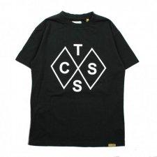 TCSS (ティーシーエスエス) Diamonds Tee(プリント半袖TEE) Black