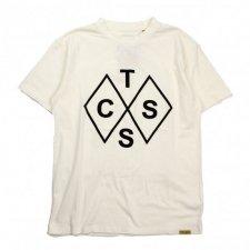 TCSS (ティーシーエスエス) Diamonds Tee(プリント半袖TEE) White