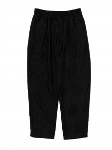 DELUXE (デラックス) DELUXE×EVISEN GARCONS PANTS (刺繍イージーパンツ) BLACK