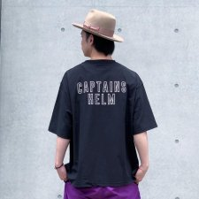 CAPTAINS HELM (キャプテンズヘルム) #PRIMEFLEX POCKET TEE (プライムフレックスTEE) BLACK