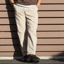 TONY TAIZSUN (トニータイズサン) Plastic free pants(リサイクルポリエステルパンツ) BEIGE