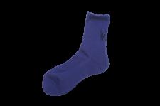 【残り1点】WAX (ワックス) Mid length socks (ソックス) PURPLE