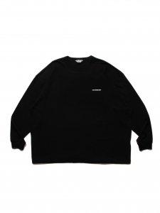 COOTIE (クーティー) Print Oversized L/S Tee (JESUS) (プリントオーバーサイズ長袖TEE) Black