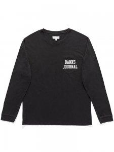 【残り1点】BANKS (バンクス) DEFENDER LS (プリント長袖TEE) DIRTY BLACK