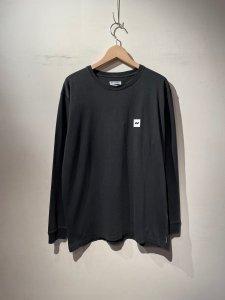 BANKS (バンクス) JOURNAL LS (プリント長袖TEE) DIRTY BLACK