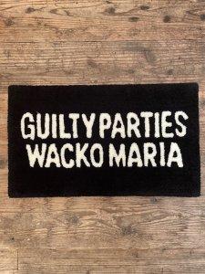 WACKO MARIA (ワコマリア) RAG MAT(ラグマット) BLACK