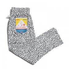 CookMan (クックマン) Chef Pants Snow Leopard(シェフパンツ スノーレオパード ) WHITE