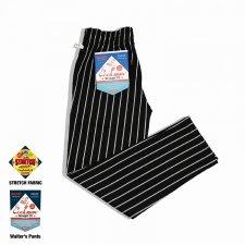 CookMan (クックマン) Waiter's Pants Stripe(ウェイターズストライプパンツ) Black
