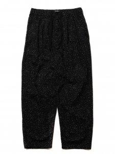 【残り1点】COOTIE (クーティー) Splatter Print OX 2 Tuck Easy Pants (スプラッタープリントツータックイージーパンツ) Black