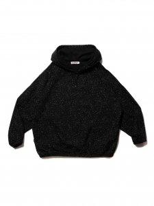 COOTIE (クーティー) Splatter Print OX Pullover Parka (スプラッタープリントプルオーバーパーカー) Black