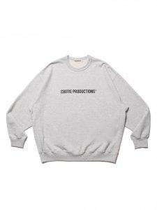 COOTIE (クーティー) Print Crewneck Sweatshirt (COOTIE LOGO) (プリントクルーネックスウェット) Oatmeal