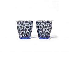 WACKO MARIA (ワコマリア) DURALEX / TWO SETS GLASS(2セットグラス) BLUE