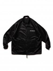COOTIE (クーティー) R/C Satin Coach Jacket (R/Cサテンコーチジャケット) Black