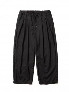 COOTIE (クーティー) T/W 2 Tuck Easy Ankle Pants (T/Wツータックイージーアンクルパンツ) Black