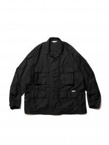 COOTIE (クーティー) Back Satin BDU Jacket (バックサテンBDUジャケット) Black