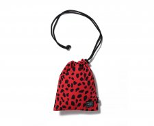 WACKO MARIA (ワコマリア) SHOULDER POUCH (TYPE-1) (レオパード柄ショルダーポーチ) RED