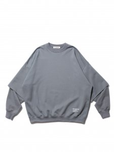 COOTIE (クーティー) Cellie Crewneck Sweatshirt (クルーネックスウェット) Gray