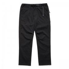 【残り1点】THE ROARK REVIVAL (ザロアークリバイバル) FULFLAN ST NEW TRAVEL PANTS - REGULAR FIT (テーパードパンツ) BLACK