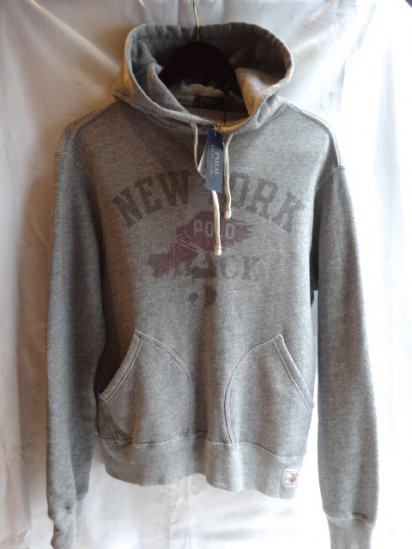Ralph Lauren Sweat Hoody Front V Gazette & Separate Pocket