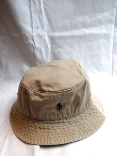 Ralph Lauren Bucket Hat Beige