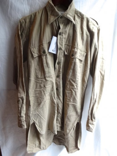 40-50's Vintage British Army Aertex Tropical Shirts