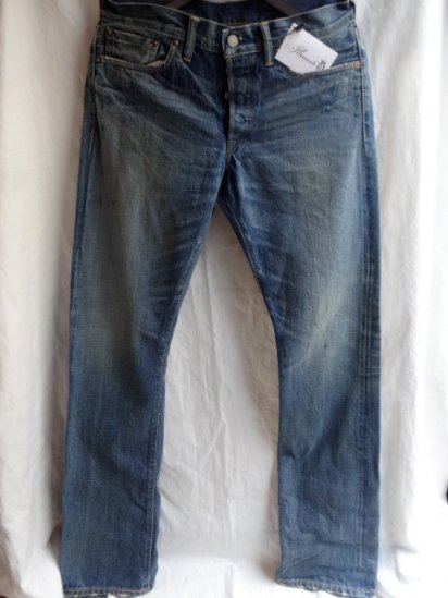 RRL SLIM BOOTSCUT Denim Pants Made in U.S.A