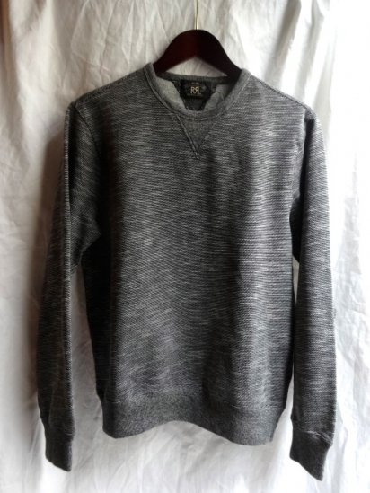 RRL V-Gusset Sweat Shirts Gray