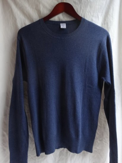 Gicipi Cotton Knit Made in Italy Navy
