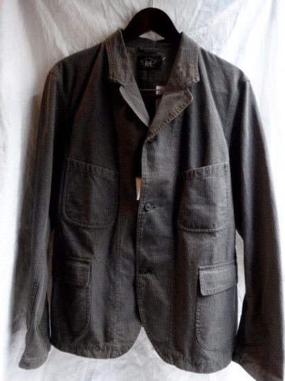 RRL Hound's Tooth WorK Jacket