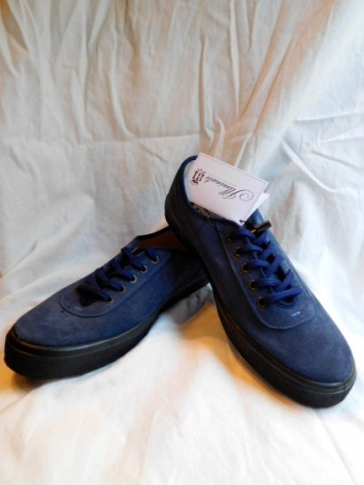FERN Suede Lacemodel Made in Czech Republic <Br>Navy