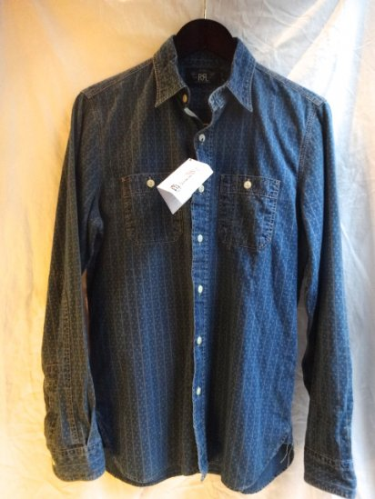 RRL Indigo Work Shirts
