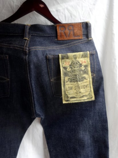 RRL LOW STRAIGHT Denim Pants Made in U.S.A